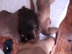 Antonio just can`t stop fucking hot black chicks!