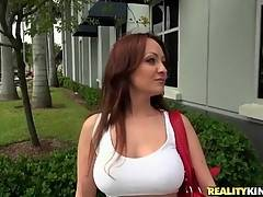 Jimmy Can`t Pass By Hot Shaped Milf 2